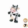 Tuffy MIGHTY TOY JR ANGRY ANIMALS MAD COW - Click for more info