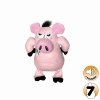 Tuffy MIGHTY TOY JR ANGRY ANIMALS PIG - Click for more info
