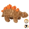 Tuffy MIGHTY TOY DINOSAUR JR STEGOSAURUS - Click for more info