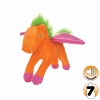 Tuffy MIGHTY TOY LIAR SERIES - JR. PEGASUS, ORANGE SHERBET - Click for more info