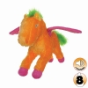 Tuffy MIGHTY TOY LIAR SERIES - PEGASUS, ORANGE SHERBET - Click for more info