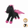 Tuffy MIGHTY TOY LIAR SERIES - JR. PEGASUS, BLACK AND PINK - Click for more info