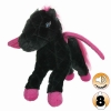 Tuffy MIGHTY TOY LIAR SERIES - PEGASUS, BLACK AND PINK - Click for more info