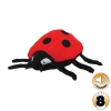 Tuffy MIGHTY TOY BUG SERIES JR LALA LADYBUG - Click for more info