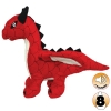 Tuffy MIGHTY TOY DRAGON RED - Click for more info