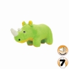 Tuffy MIGHTY TOY SAFARI SERIES JR RHONI THE RHINO Green - Click for more info