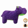 Tuffy MIGHTY TOY SAFARI SERIES HERB THE HIPPO Purple - Click for more info