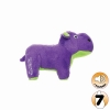 Tuffy MIGHTY TOY SAFARI SERIES JR HERB THE HIPPO Purple - Click for more info