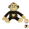 Tuffy MIGHTY TOY SAFARI SERIES MAX THE MONKEY Brown - Click for more info