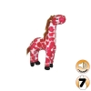 Tuffy MIGHTY TOY SAFARI SERIES JR GINA THE GIRAFFE (PINK) - Click for more info