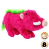 Tuffy MIGHTY TOY SAFARI SERIES WONDA THE PINK WARTHOG - Click for more info