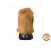 Tuffy SILLY SQUEAKERS TOY FUNNY FEET - BISON - Click for more info
