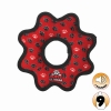 Tuffy ULTIMATE GEAR RING Red Paws - Click for more info