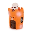 """ZANIES Peek-A-BOO, Skeleton 4"""" Latex Dog Toy - Click for more info"""